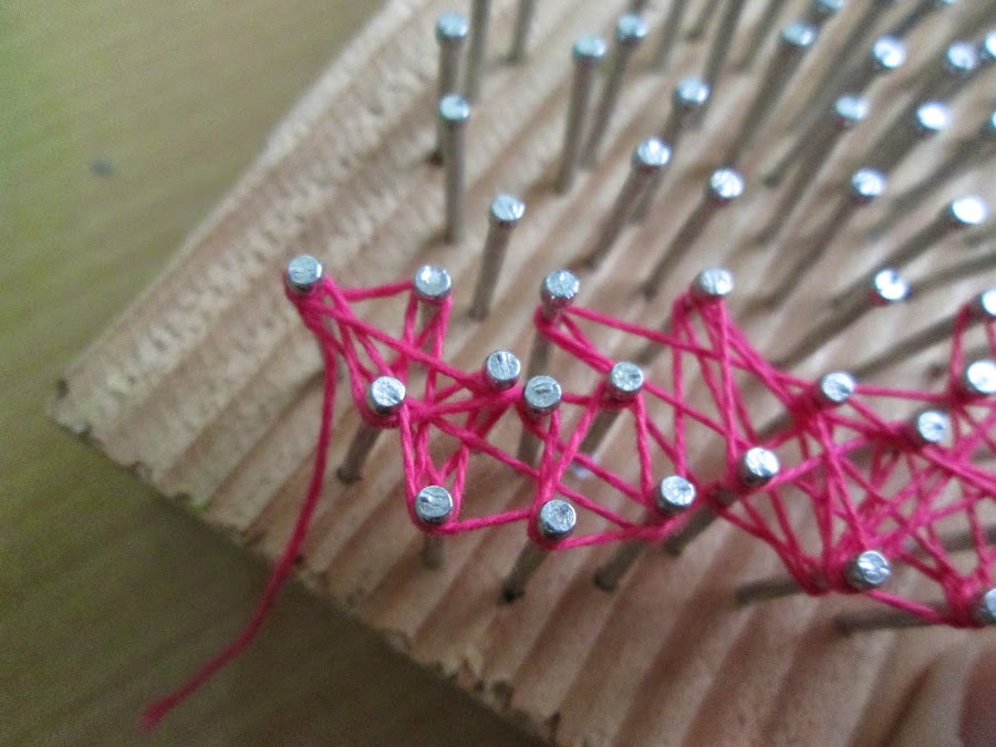 DIY haz tu propio hilorama o string art   Manualidades