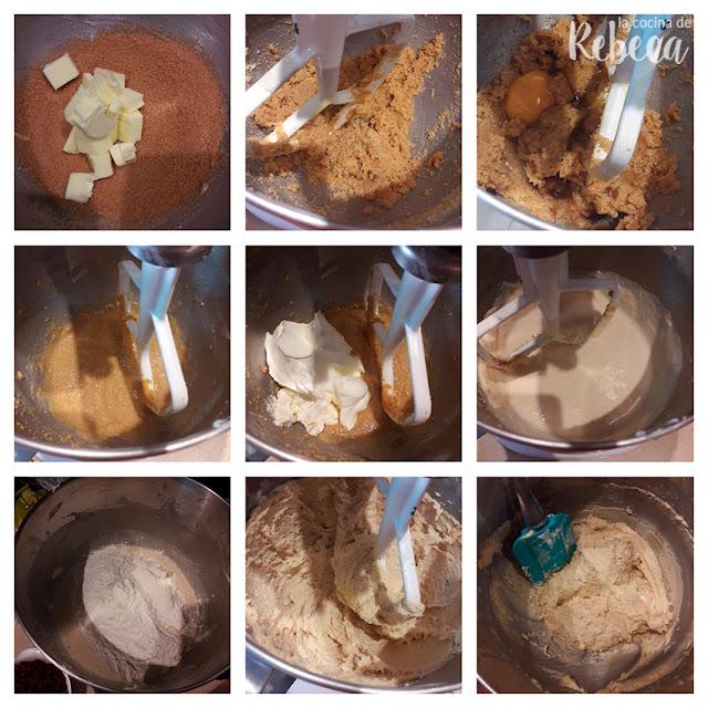 Receta de muffins de arándanos secos y chocolate blanco: la masa