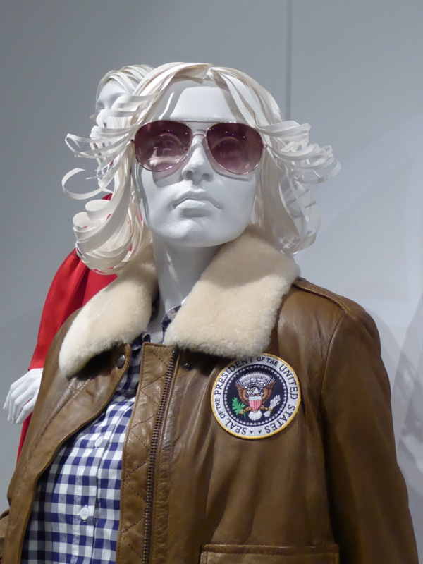 Veep season 5 Selina Meyer POTUS costume