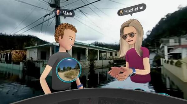 """مارك زوكربيرغ يستعمل تطبيق الواقع الافتراضي لزيارة """"بورتو ريكو"""" المدمرة"""