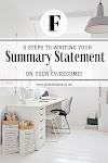 3 STEPS TO  WRITING  A CAPTIVATING  RESUME SUMMARY STATEMENT THAT'LL LAND YOU A JOB