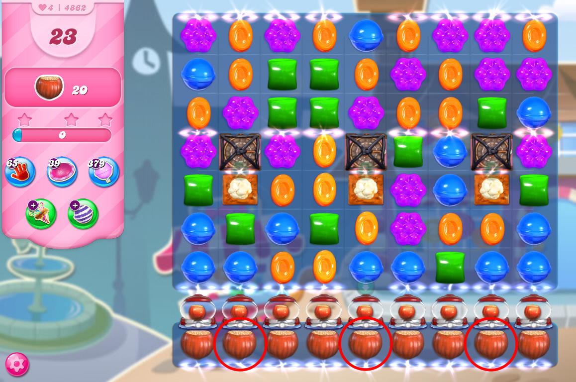 Candy Crush Saga level 4862