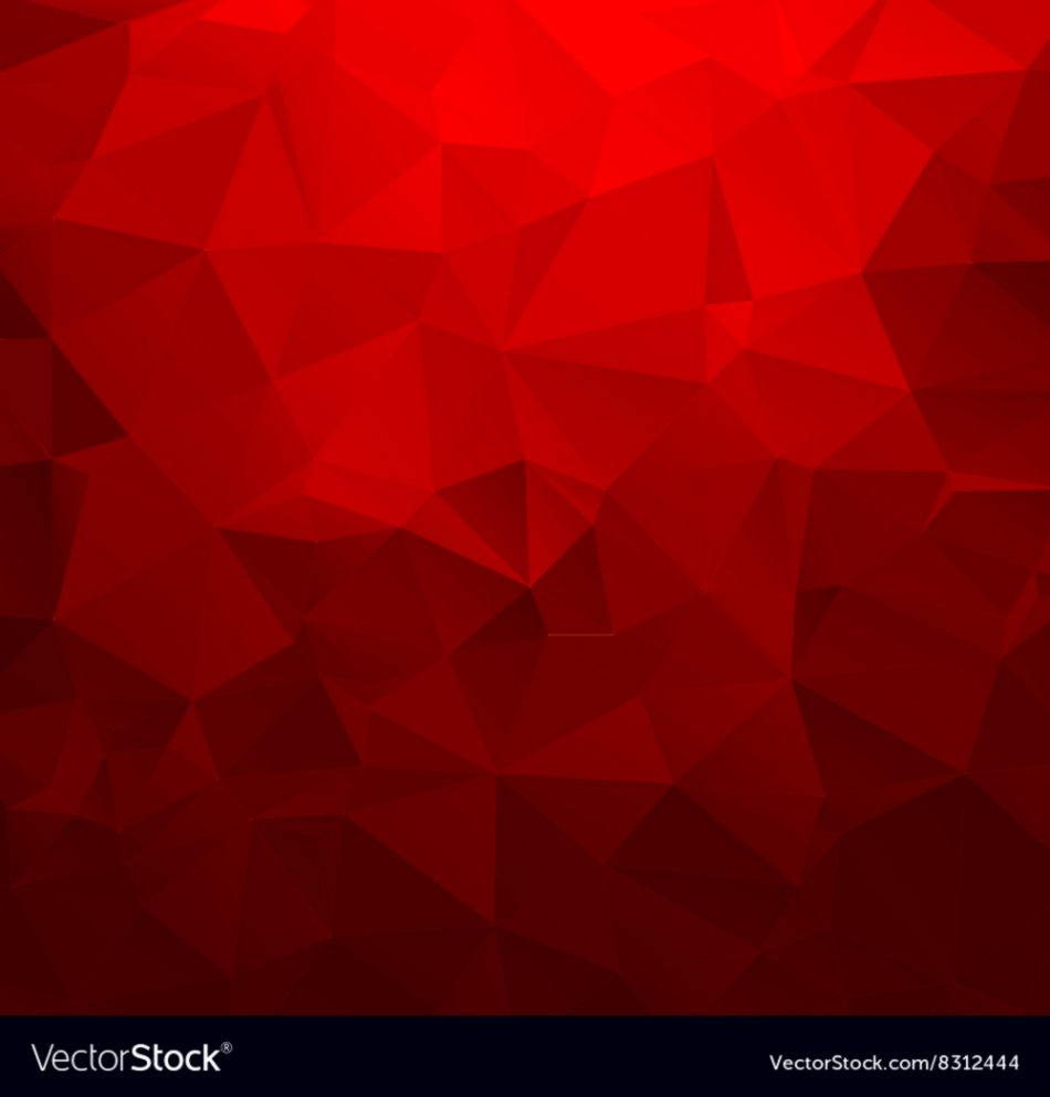 abstract red triangles geometry