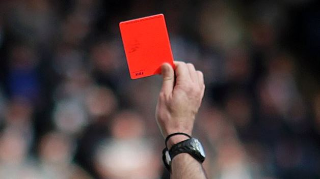 Referees may flash more red cards at the 2018 FIFA World Cup (See Reason)