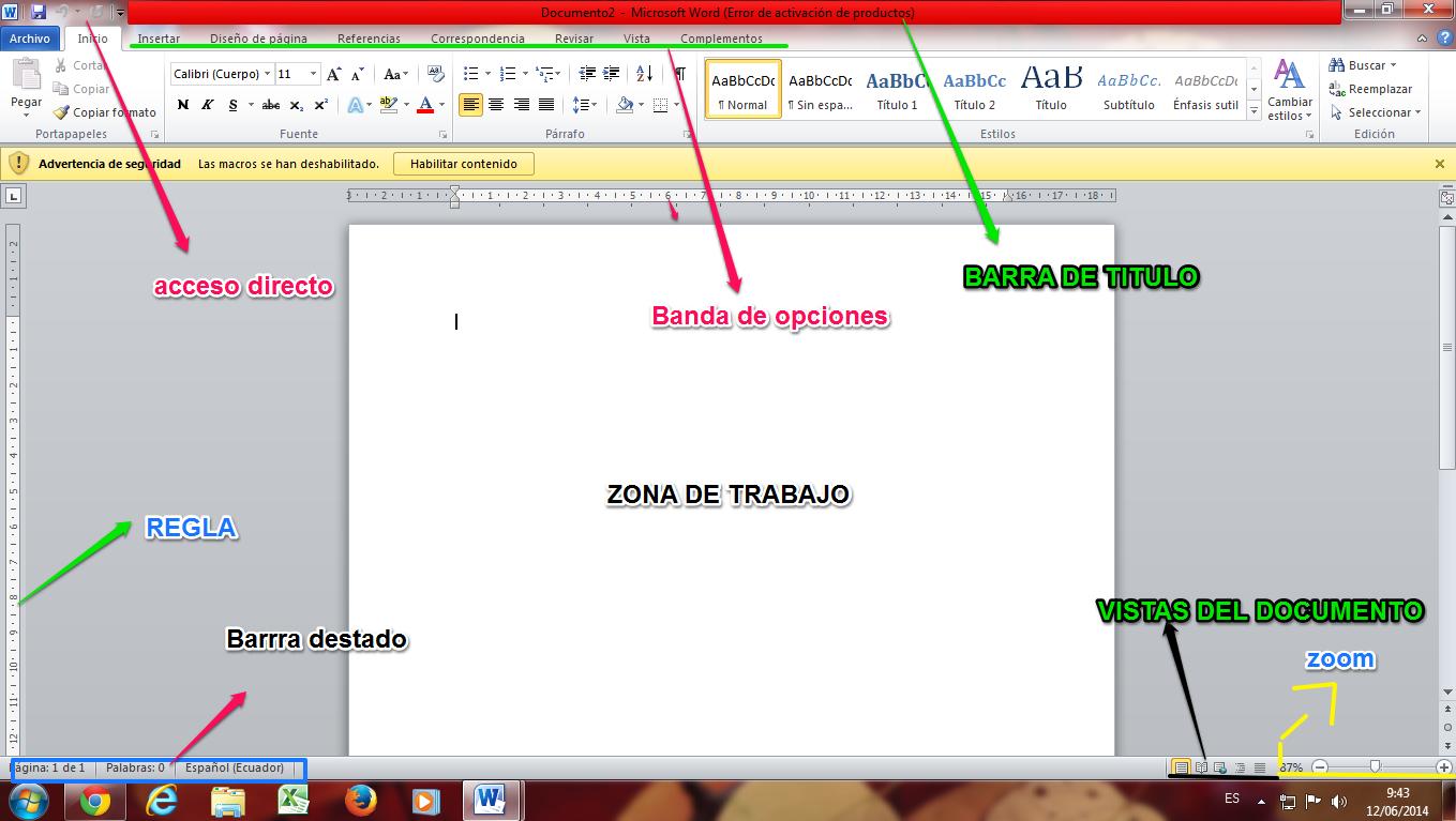 Que Es Word Lic Harol J Durango Zapata
