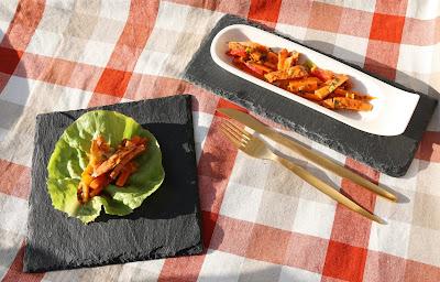Wurstsalat mit Paprika