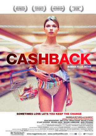 Poster of Cashback (2006) Full Movie BRRip 720p 1GB ESub