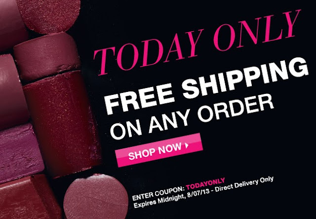 Avon Free Shipping Today Only Avon Beauty With Mary