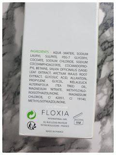 Floxia gel purifiant purifying gel kullananlar