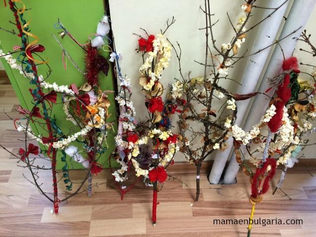 Survachkas de Año Nuevo, Bulgaria