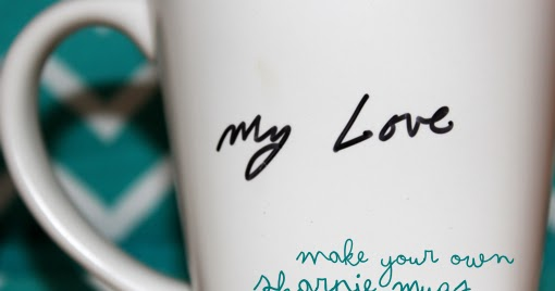 Indie And Chic Sharpie Mugs Pinterest Project