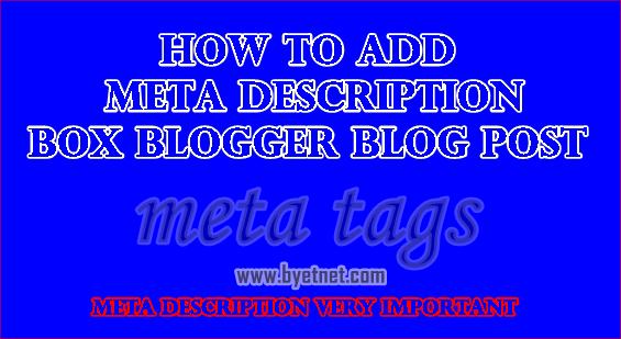 blogger-post-me-meta-description-kaise-dale