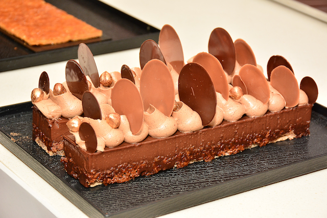 The Le Petit Moka, a unique interpretation of pralines using the freshest European Cream