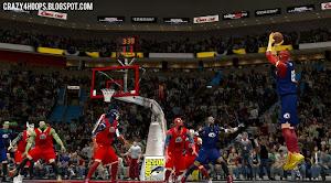NBA 2K14 MGX Superhero Mod: Justice League vs. The Avengers