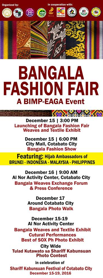 Bangala Fashion Fair at Shariff Kabunsuan Festival 2016