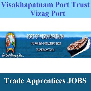 Visakhapatnam Port Trust, Vizag Port, Andhra Pradesh, AP, ITI, 10th, Trade Apprentice, Apprentice, freejobalert, Sarkari Naukri, Latest Jobs, vizag port logo
