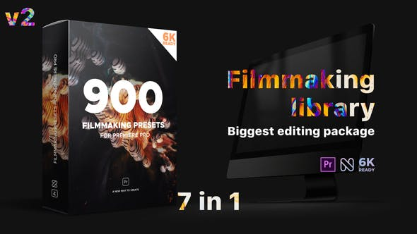 Effects Pack vol.1 Premiere Pro - filmmaking library biggest editing package