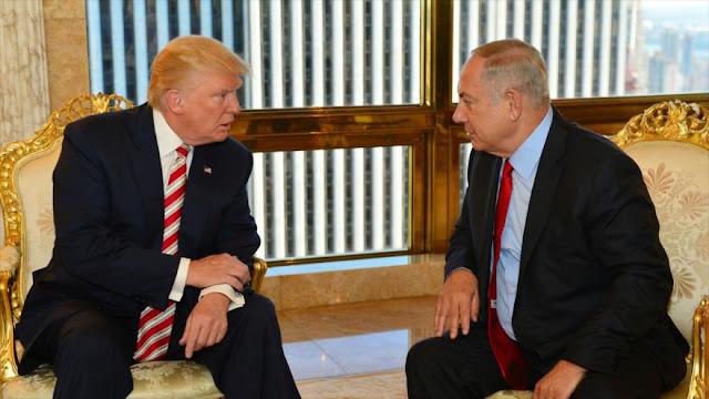 """""""Trump inicia belicismo en Oriente Medio con viaje de Netanyahu"""""""