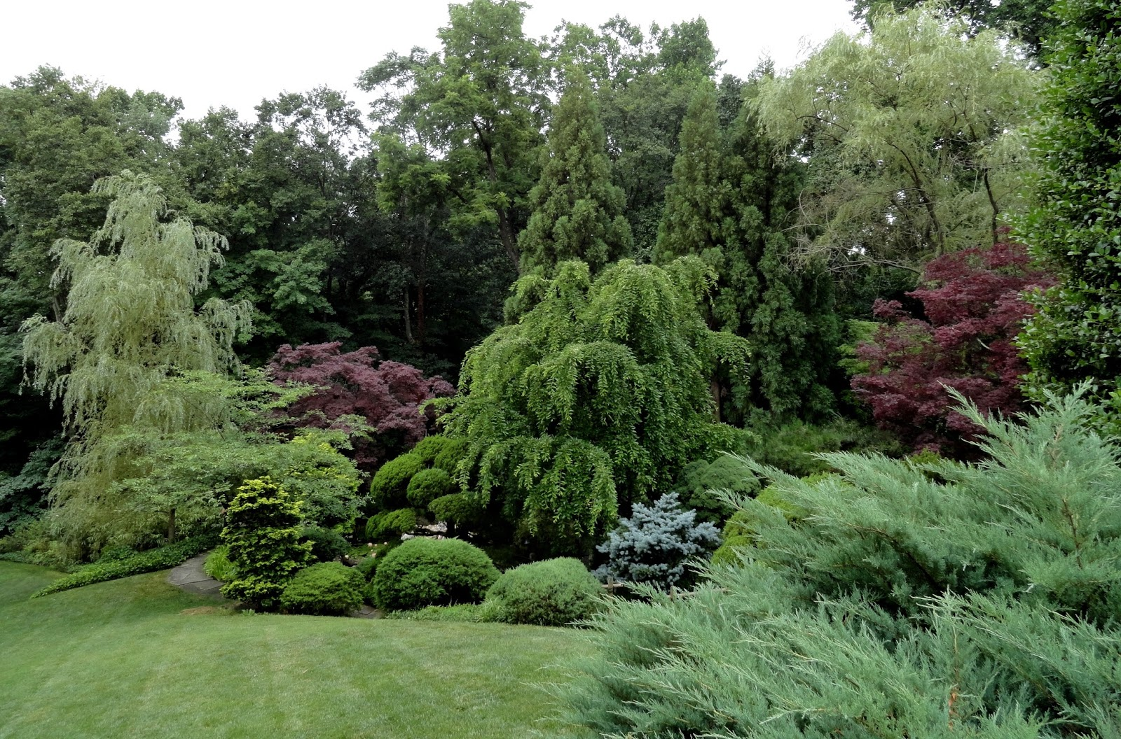 danger garden: hillwood estate; our first official stop on the