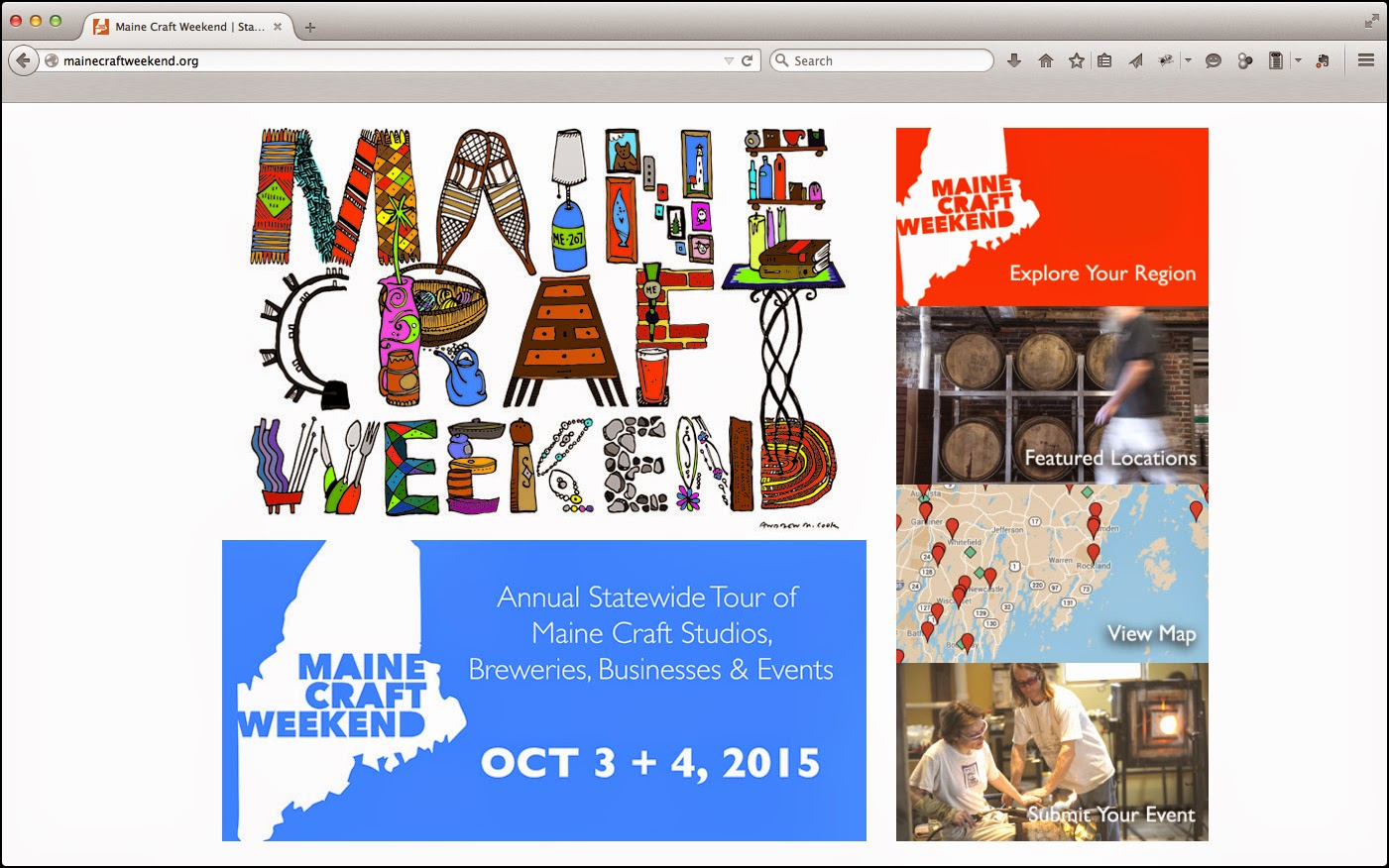 American Craft Week: Maine Craft Weekend's DEDICATED EVENT