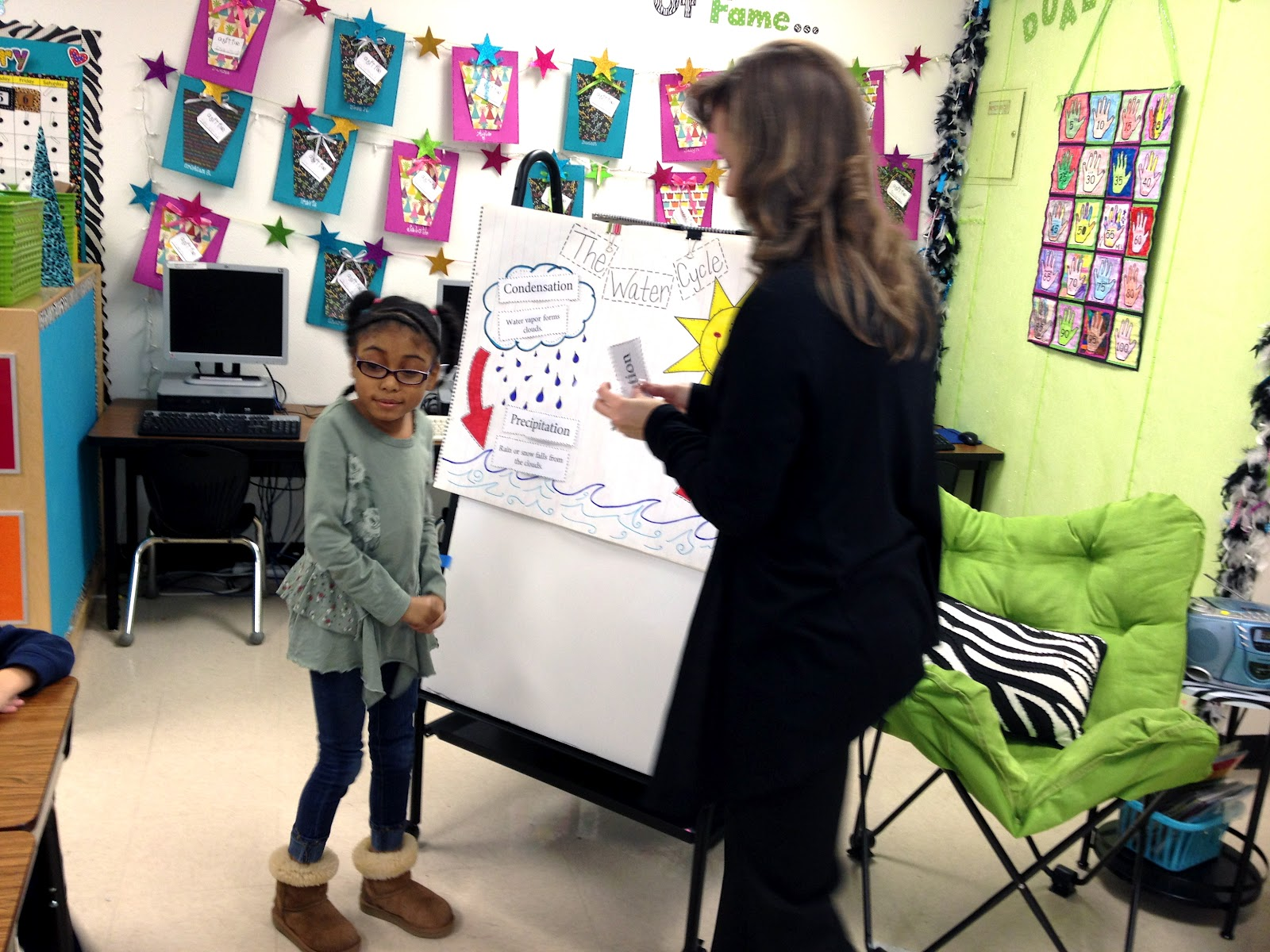 Glitzy In 1st Grade February
