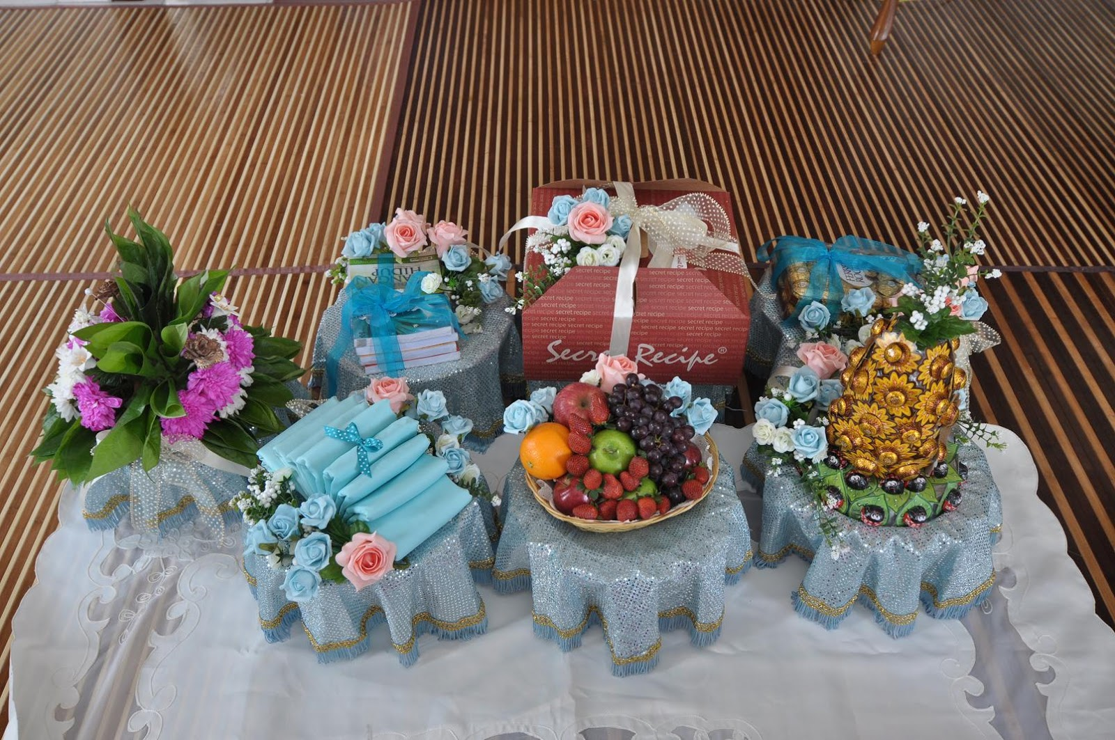 Nothing is impossible to a willing heart Review Hantaran