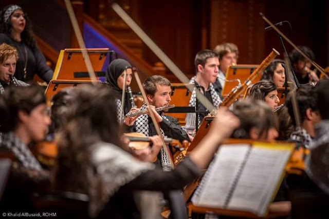Palestine Youth Orchestra - photo Khalid AlBusaid ROHM