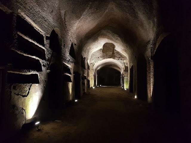 Catacombe di San Gennaro a Napoli-Parte inferiore