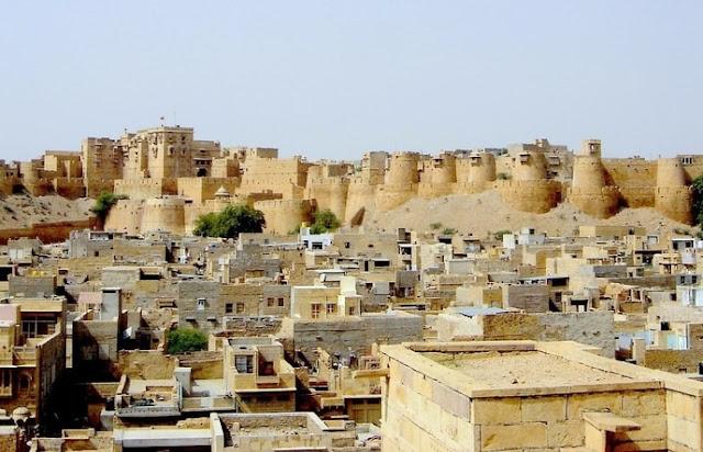 Jaisalmer-rajasthan-forteresse