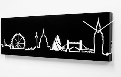 Skyline London Wall Clock