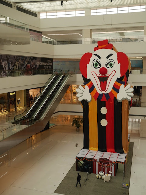 Halloween activity at the Forum 66 shopping mall in Shenyang, China