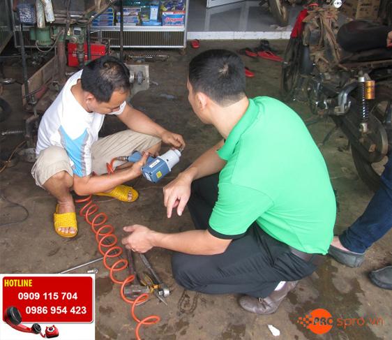 Nhà cung cấp thiết bị sửa xe máy chuyên nghiệp cho head Honda