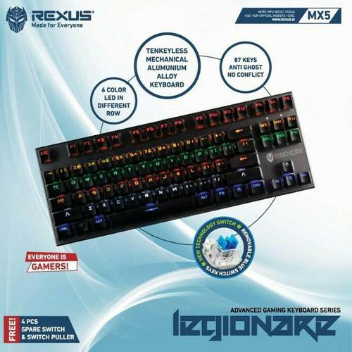 Rexus Legionare MX5 - TKL