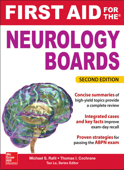First Aid for the Neurology Boards - 2nd Edition (2015) [PDF]