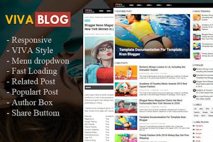 Template Blogger Mirip Viva.Com