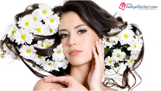 Kadınlara çiçek