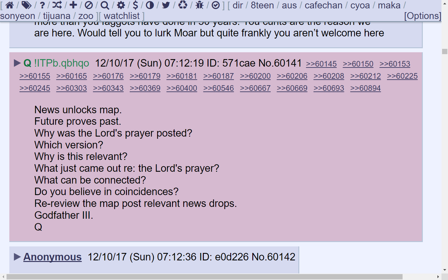 8chan Picture: Co-creating Our New Earth : X 24 New Q Posts