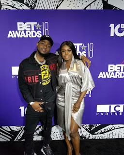 Niniola And Davido Attended The Pre-BET Event
