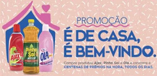 Cadastrar Promoção Pinho Sol Ajax e Ola 2018 Produtos Concorrer 100 Mil Reais