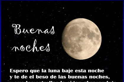 Frases De Amor Para Desear Buenas Noches