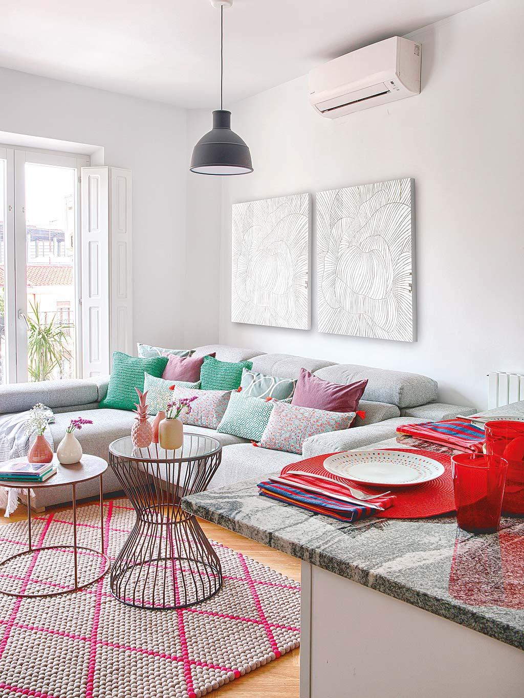 Una casa a colori a madrid - Casa a colori ...