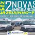 Prefeito entrega 2 novas Ambulâncias nesta terça-feira (16)