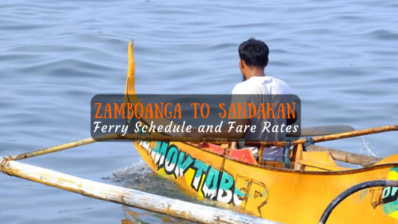 Zamboanga to Sandakan Ferry Schedule