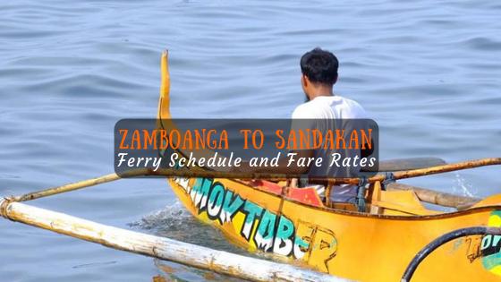 Zamboanga to Sandakan Ferry Schedule