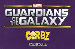 """GUARDIANS OF THE GALAXY DORBZ #21 /""""THE COLLECTOR/"""" VINYL SUGAR"""