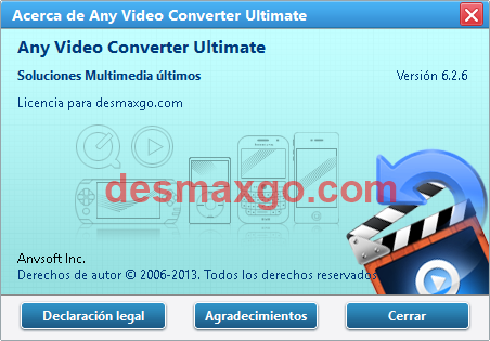 Descargar Any Video Converter Ultimate Keygen Gratis _ captura 2