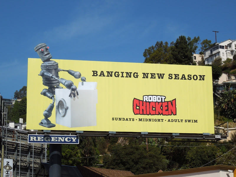 Robot Chicken season 6 Adult Swim billboard