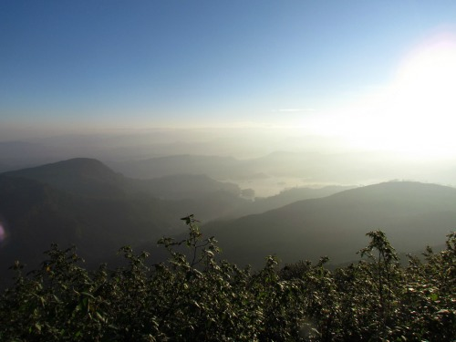 Mountain View, Adams Peak, Sri Lanka