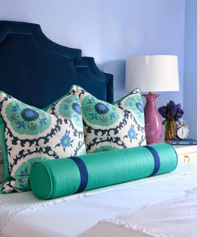 Irina: Navy + Turquoise. Inspiration ideas.