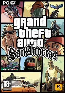 descargar gta san andres para pc full español version portable + Rip mega iso.
